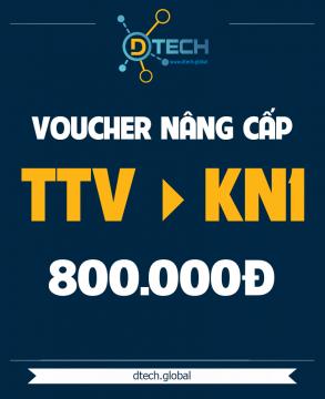 Gói Website Nâng Cấp TTV lên KN1 - 800K
